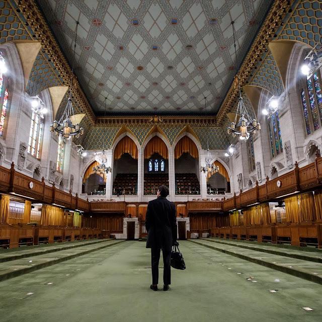 Parlamento do Canadá em Ottawa será fechado no inicio de 2019 para 10 anos de renovações.