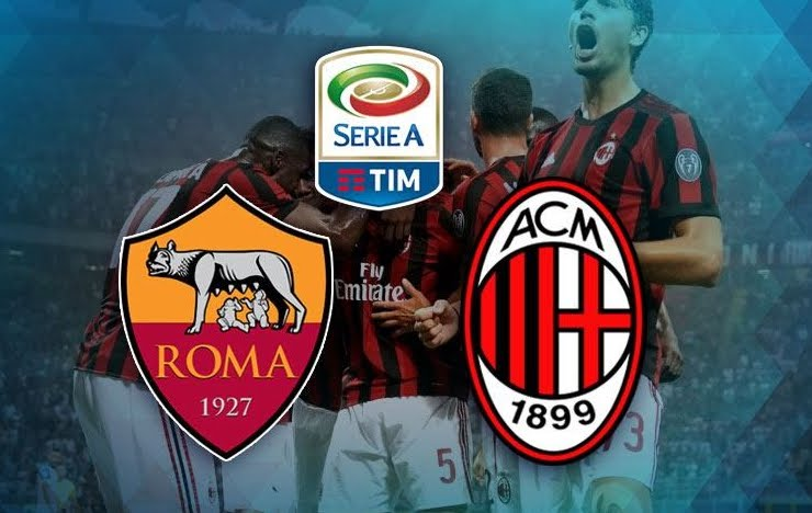 DIRETTA Roma-Milan Streaming Rojadirecta: dove vederla in TV e VIDEO LIVE Online