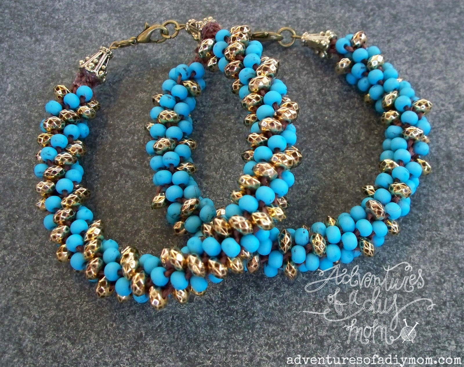 kumihimo beaded bracelets tutorial adventures of a diy mom