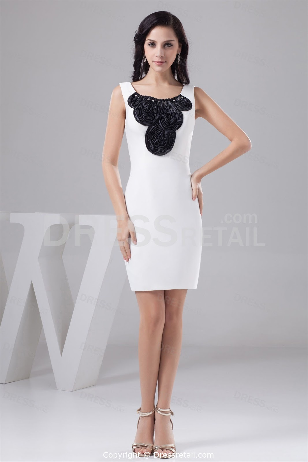 black and white short wedding dresses short black wedding dresses White and Black Wedding Gowns Black and White Bridal Gowns Black Short Dresses for