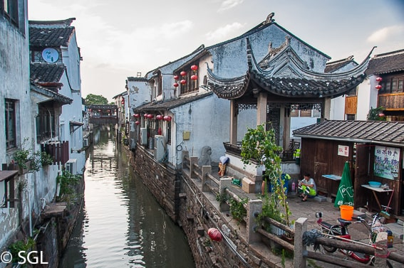 Suzhou y sus canales. China