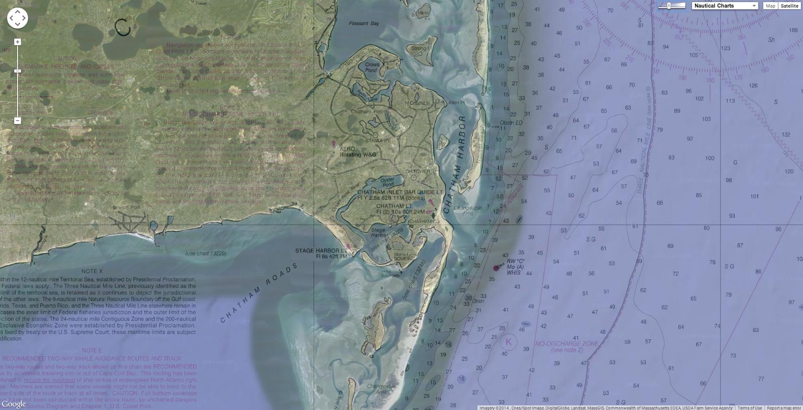 Geogarage Blog Changes On The Cape Cod Coastline