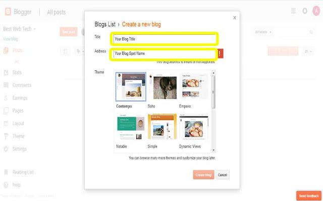 create-your-blog-website