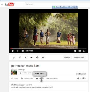 cara menampilkan video youtube ke postingan di blog