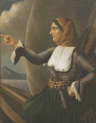 Laskarina Bouboulina, the Albanian Commander of Greek navy that terrified the Ottomans