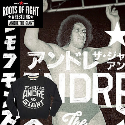 Roots of Wrestling Andre the Giant T-Shirt Collection by Roots of Fight