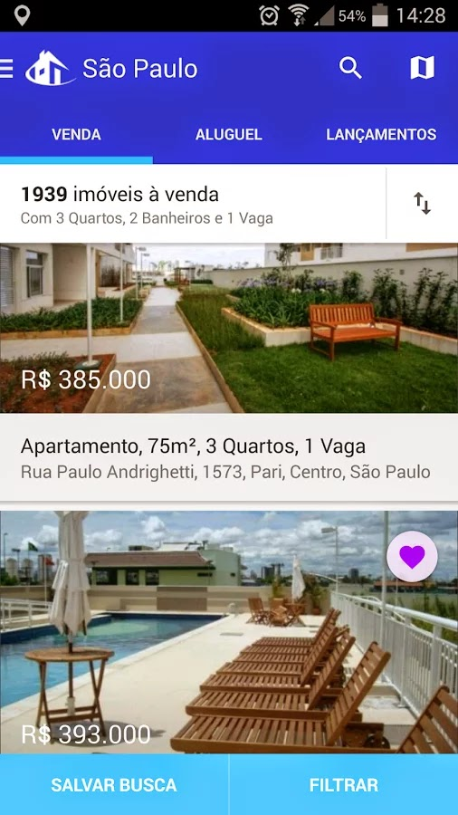 aplicativo do portal VivaReal