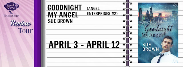 Review Tour incl Recent Release Review & Giveaway - Goodnight My Angel (Angel Enterprises #2) by Sue Brown