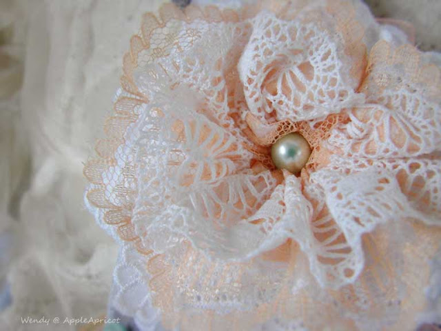 lace flower by AppleApricot