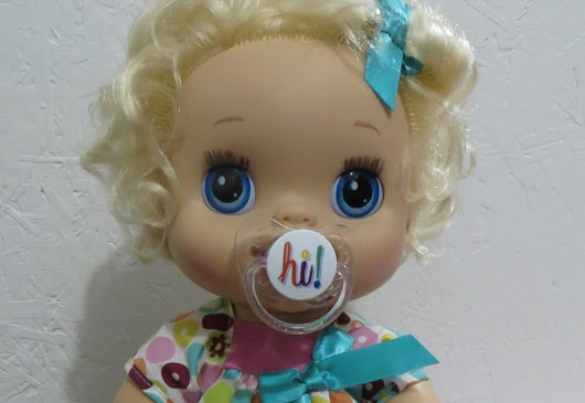 Baby Alive Pacifiers - Handmade and Magnetic for 2010 My Baby Alive Doll