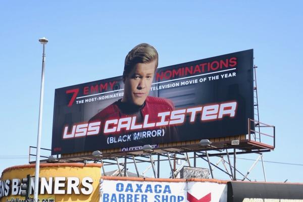 Jesse Plemons USS Callister Emmy nominee billboard