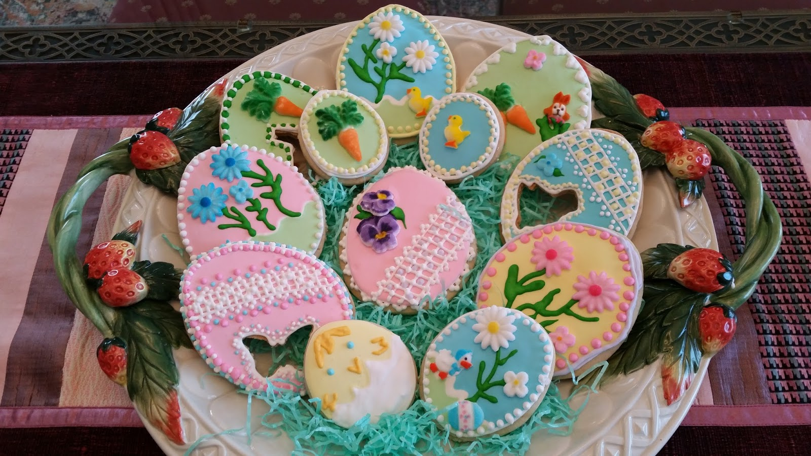 Cooking with Julian: Easter Egg Sugar Cookies with Royal Icing ...