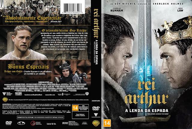 Capa DVD Rei Arthur: A Lenda da Espada [Custom]