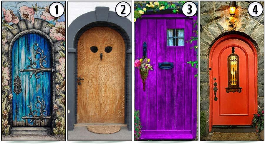 Test: ¿Qué puerta piensas que conduce a la felicidad?