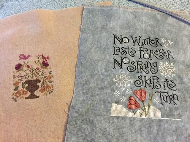 Weekend Stitching