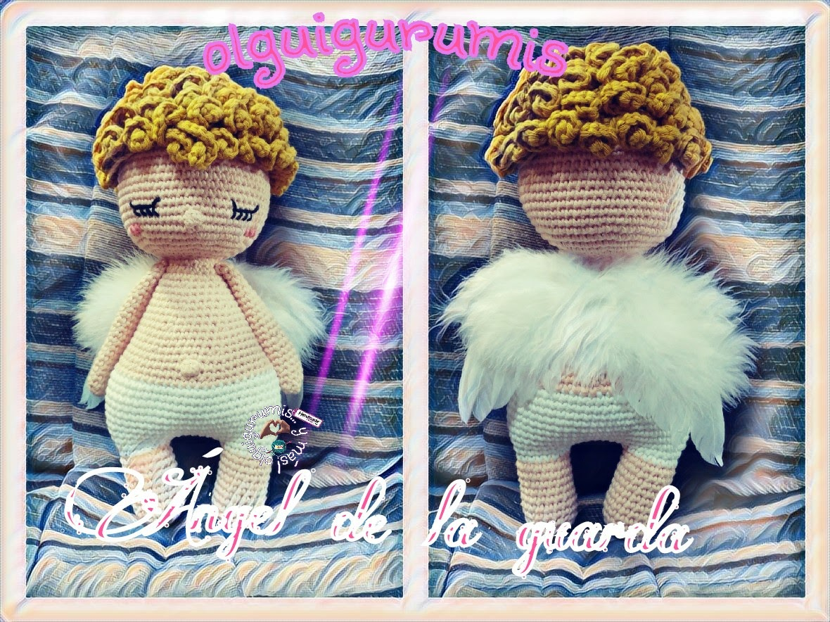 Angel Crochet Pattern 4 PDF 's English, Swedish, Dutch, German ... | 884x1180
