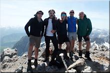 Anie - Auñamendi mendiaren gailurra 2.507 m. -- 2017ko maiatzaren 27an