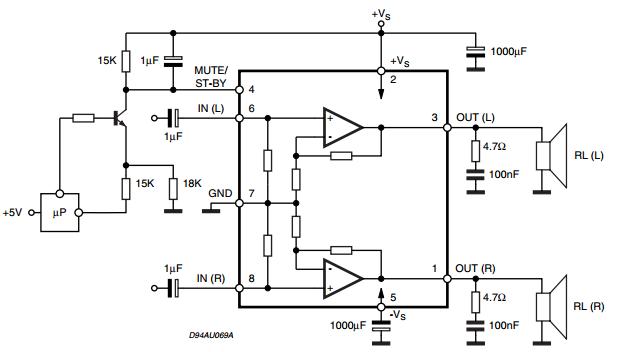 AmplifierCircuits.com: 2x25W