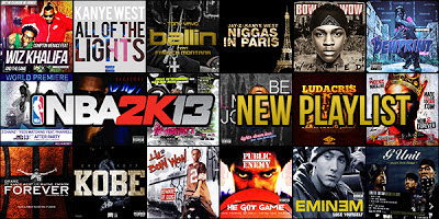 NBA 2K13 Basketball Songs Music Soundtrack Mod