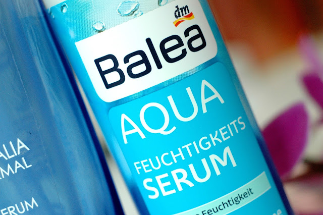 Review Balea Aqua Feuchtigkeitsserum