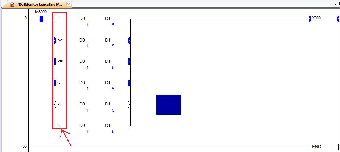 Instruksi perbandingan 16 bit bin di plc mitsubishi gagalenyilih sebenarnya tidak hanya 16 bit tapi masih ada lagi yang 32 bit mungkin nanti saya akan menjelaskan yang 32 bit tapi lain waktu ya hehehehe sekarang yang ccuart Gallery