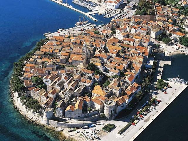 Cidade histórica de Korcula – Croácia