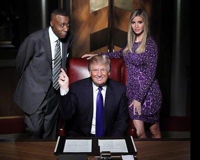 Arsenio Hall, Donald Trump and Ivanka Trump on All-Star Celebrity Apprentice