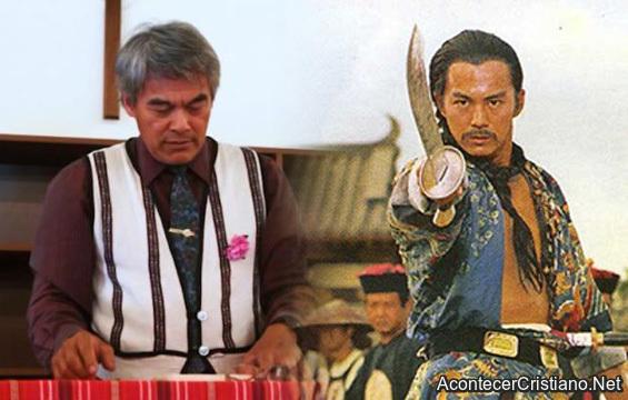 Actor taiwanés Lin Qing Tai se convierte a Cristo