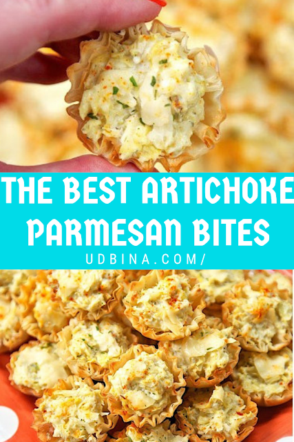 THE BEST ARTICHOKE PARMESAN BITES