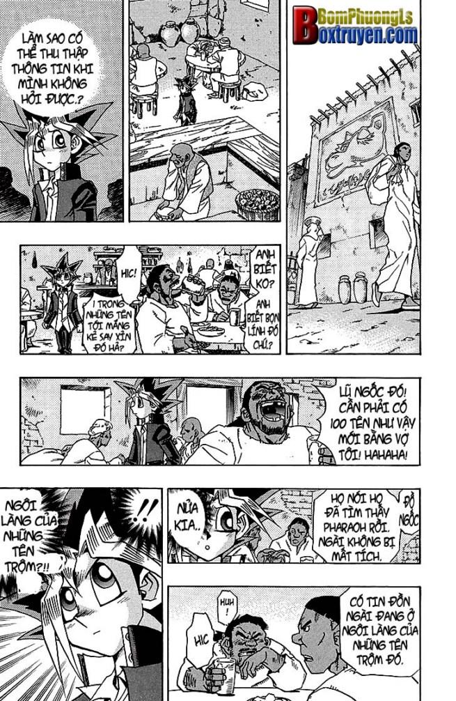 YUGI-OH! chap 313 - ngôi làng của những oan hồn trang 5