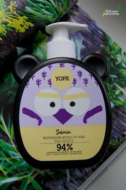Yope -  Naturalne mydło do rąk dla dzieci Jaśmin