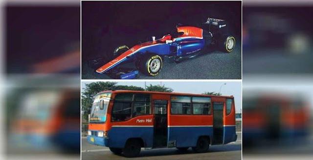 Mobil Rio Haryanto Mirip dengan Bus Metromini