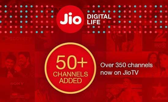 22 More Live TV channels in Reliance Jio - JioTV app