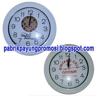 Grosir Jam Dinding Souvenir Promosi Murah