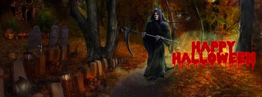 anh bia halloween facebook