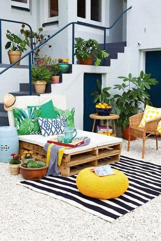 7 ideas para decorar tu terraza desde cero boho deco - Decoraciones de terrazas ...