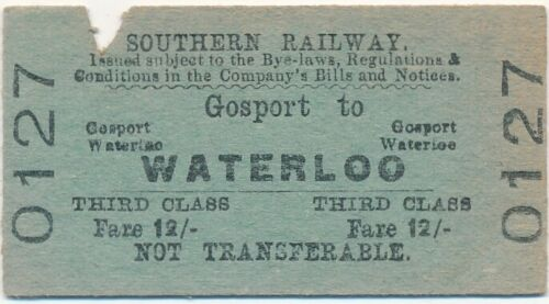 Ticket to Waterloo