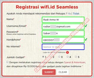 cara mendapatkan wifi id