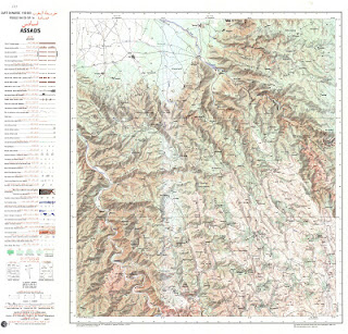 ASSADAS 2 Morocco 50000 (50k) Topographic map free download