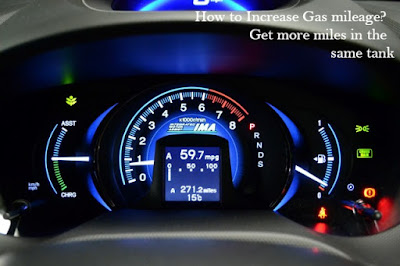 how to increase car's gas mileage