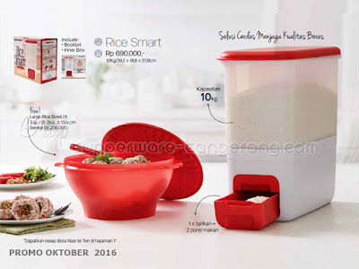 Rice Smart ~ Tupperware Promo Oktober 2016