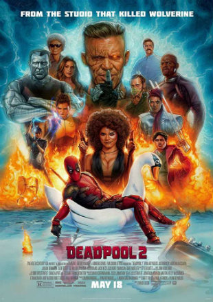 Deadpool 2 2018 Dual Audio Hindi Movie Download Hd DVDScr