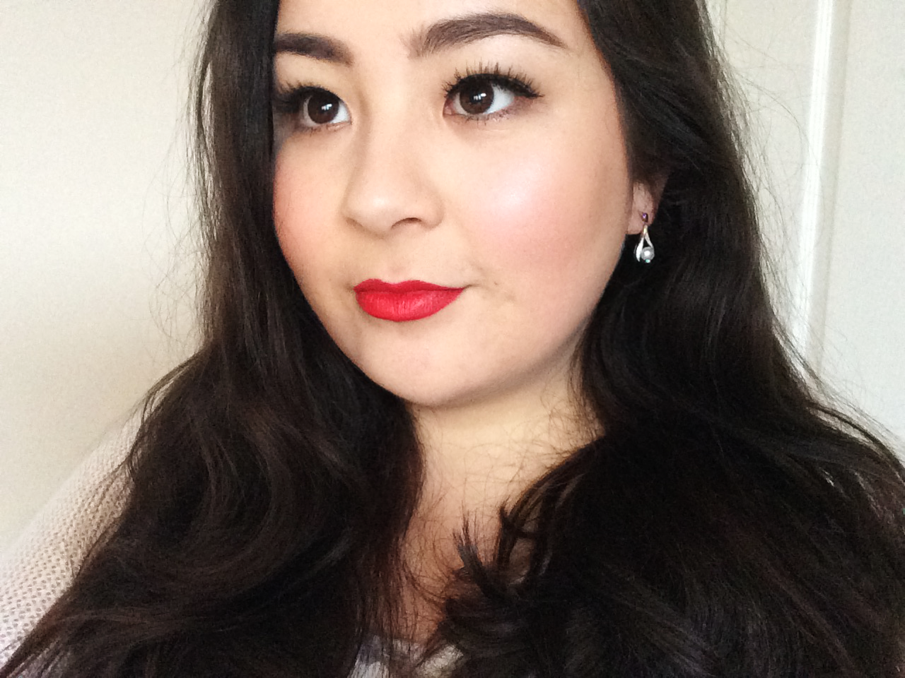 christmas-makeup-2016-classic-red-lip-korean-girl