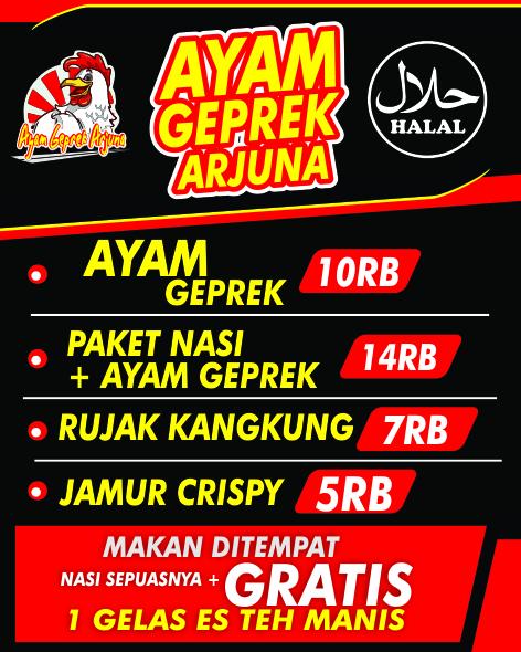 Daftar Harga Ayam Geprek Agen87