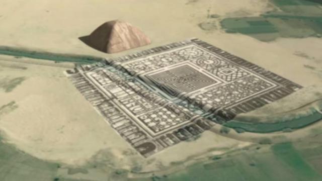 Misteri Penemuan Labirin Raksasa di Bawah Tanah Mesir