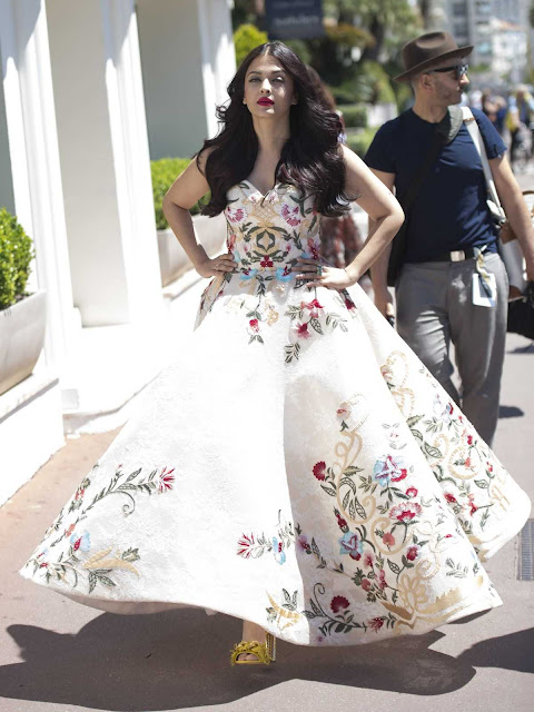 Aishwarya Rai in Cannes