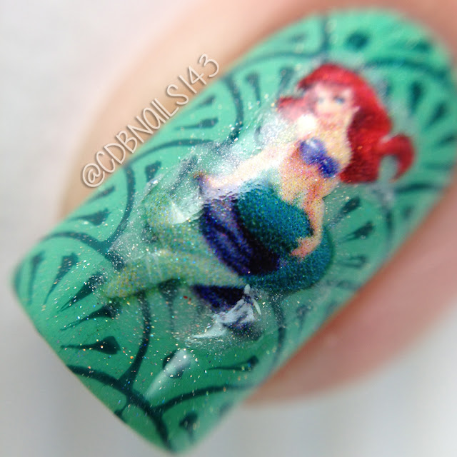 Sweet World of Nails-The Little Mermaid