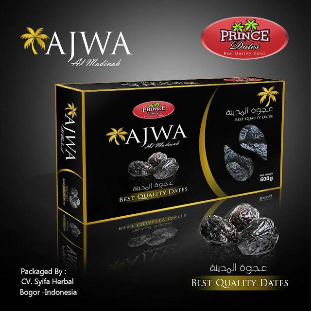 Kurma Ajwa Al Madinah PRINCE DATES 500 Gram