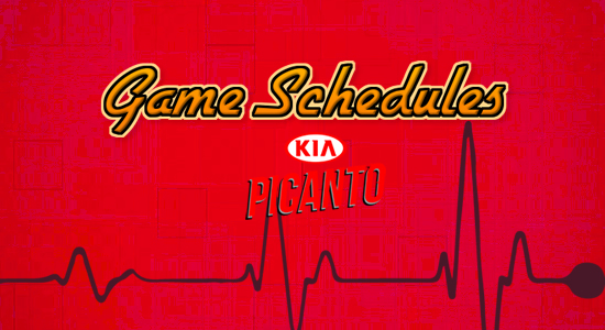 List: Kia Picanto Game Schedules 2017-2018 PBA Philippine Cup