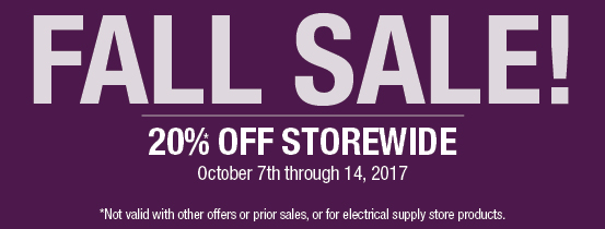 Dominion Electric Fall Lighting Sale